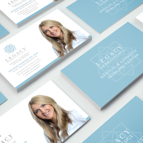 Business card - Legacy Dermatology