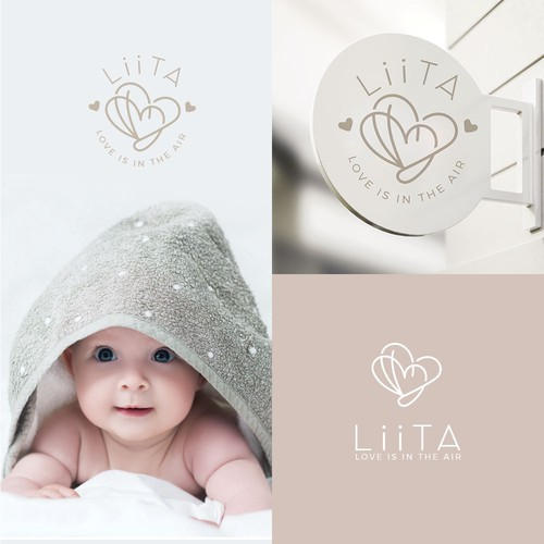 High-end attractive logo for baby products