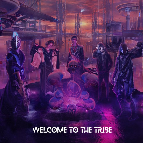 Cyberpunk welcome Banner