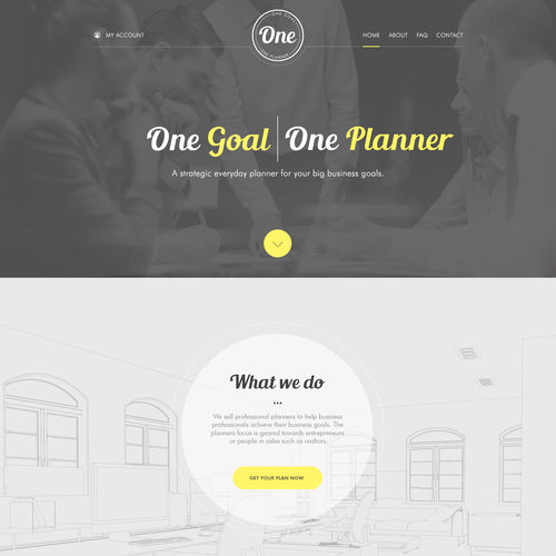 One Planner Website