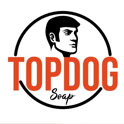 Logo concept for Top Dog Soap