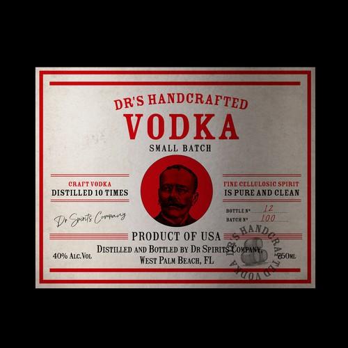 Vodka-Label Design