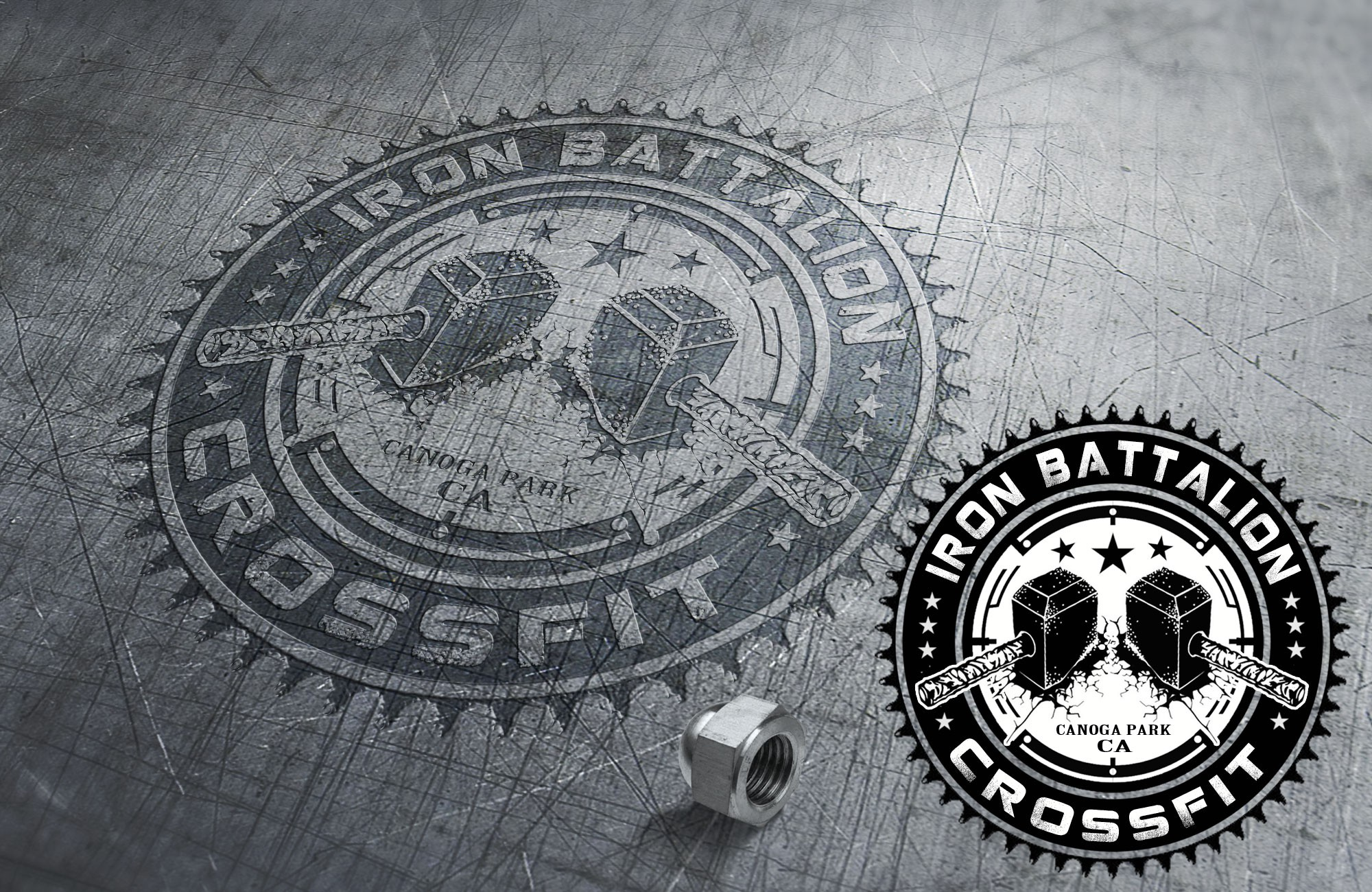Create an awesome CrossFit brand that will be known worldwide once our team makes it to the Games!!!