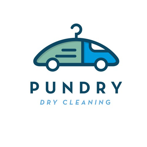 Logo for delivery business Pundry
