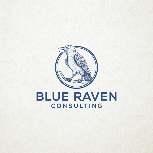 logo for BLUE RAVEN