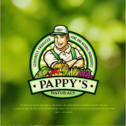 Logo For Pappy's Naturals