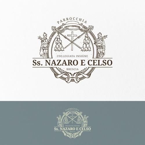 Logo per un'antica chiesa di Brescia