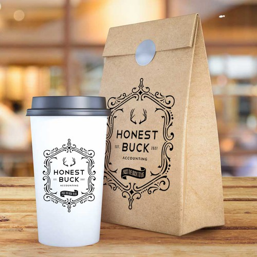 HONEST BUCK ACCOUNTING COFFEE BAG