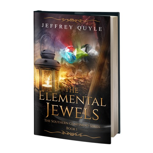 Book cover - The Elemental Jewels