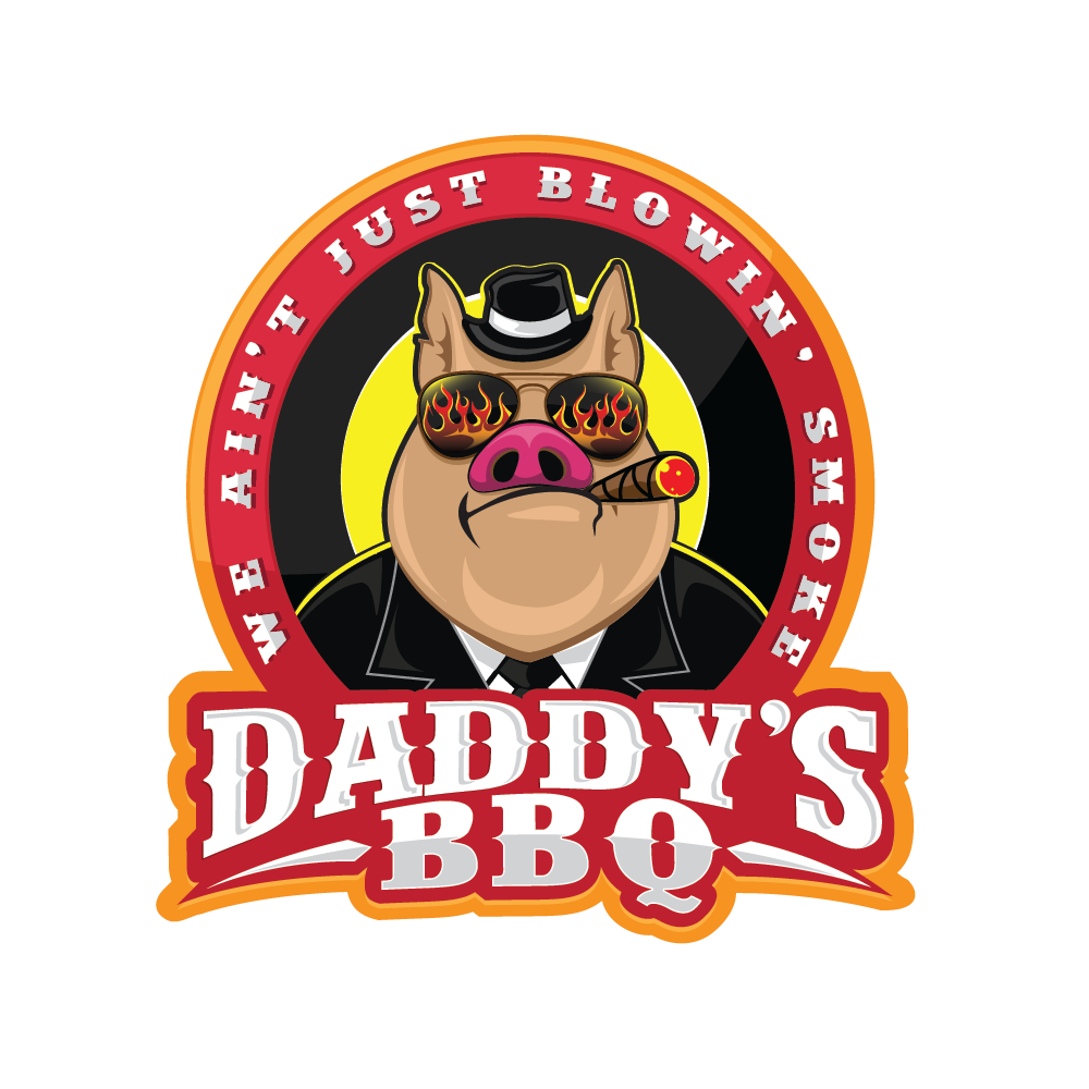Logo for an Eastern North Carolina BBQ food truck