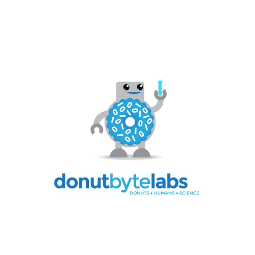 Create Brand Identity for Geeky Donut Robot Food Cart