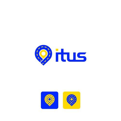 Logo concept for infrastructure transport assets app
