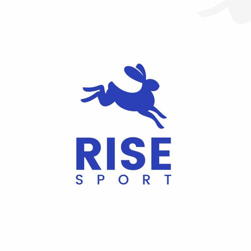 RABBIT LOGO FOR RISE SPORT