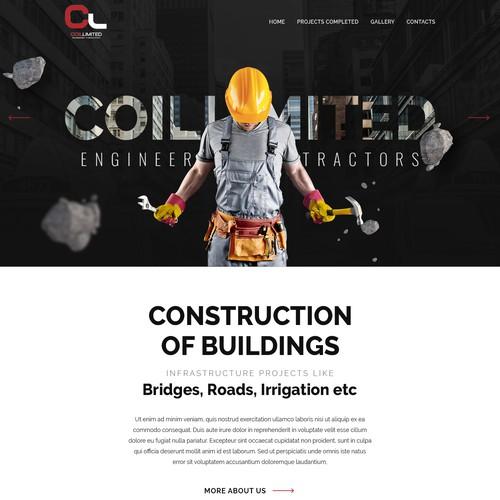 Coil Website Design