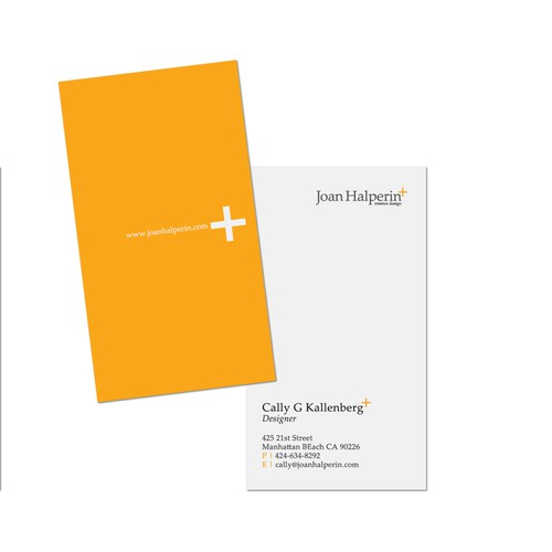 New stationery wanted for Joan Halperin +