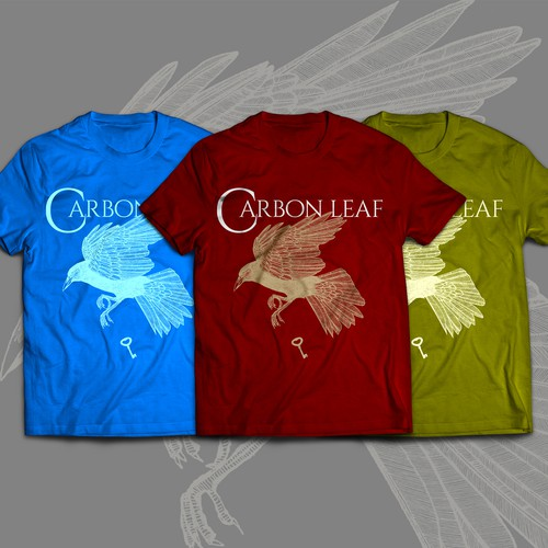 Carbon Leaf T-shirt design