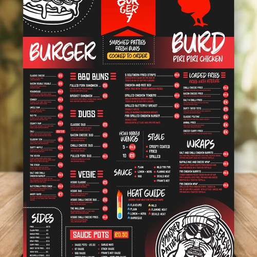 We need a new menu.