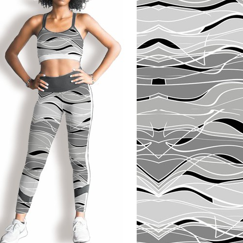 B&W CAMO Pattern Design