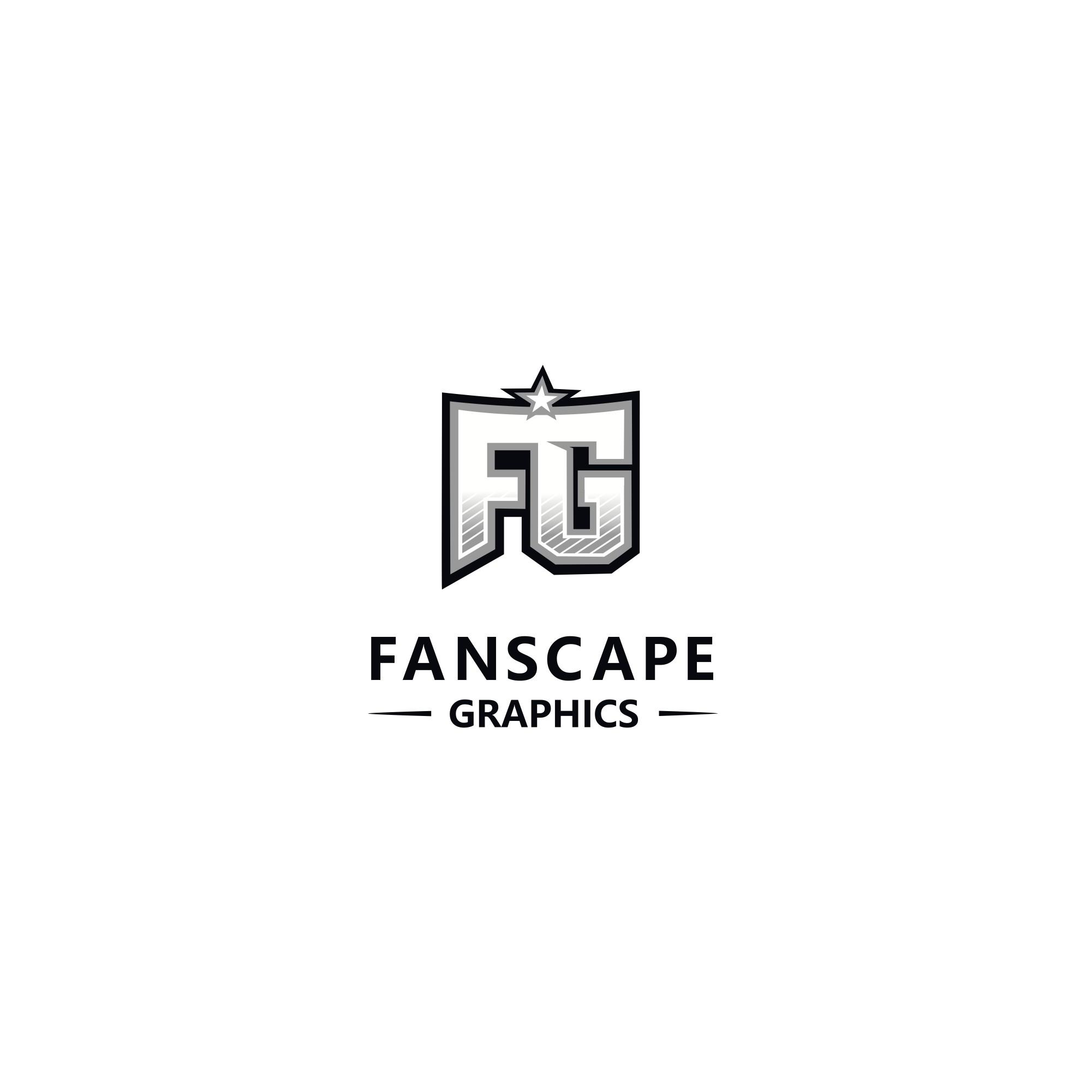 Design a HS/Collegiate Themed logo for Fanscape Graphics