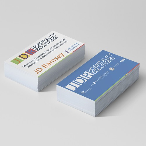 JDR Hospitality Solutions Business Card