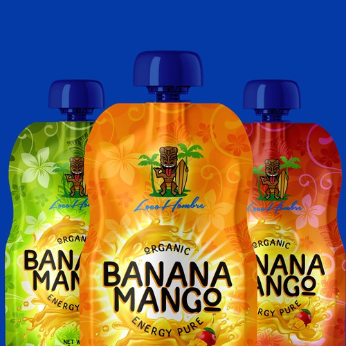 Banana Mango Energy Pouch