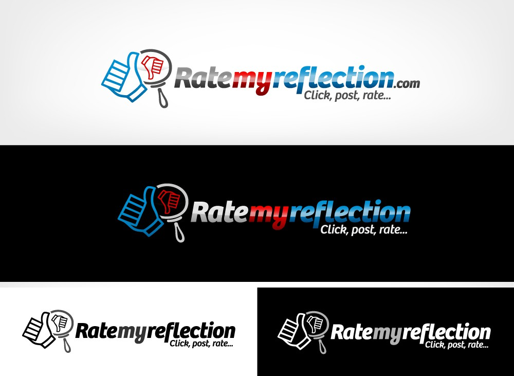 Help ratemyreflection.com with a new logo