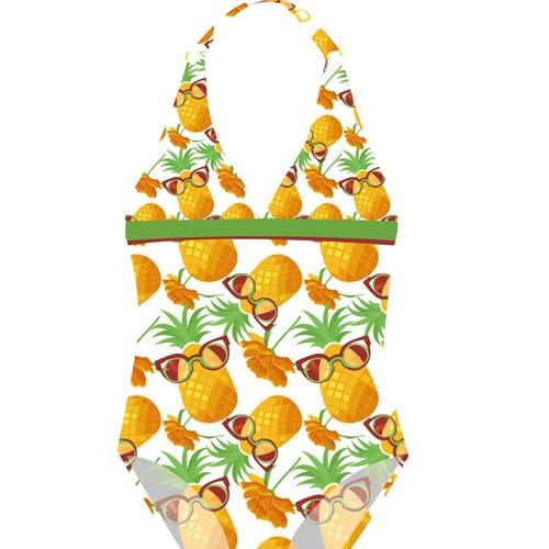 swimwear print pattern