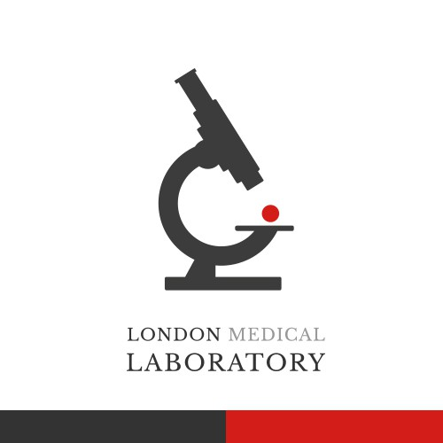 Logo & brand identity pack for London Medical Laboratory