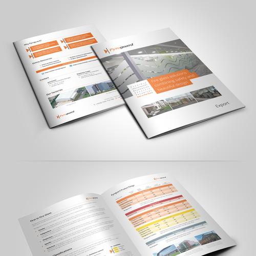 Modernize our brochure front cover!