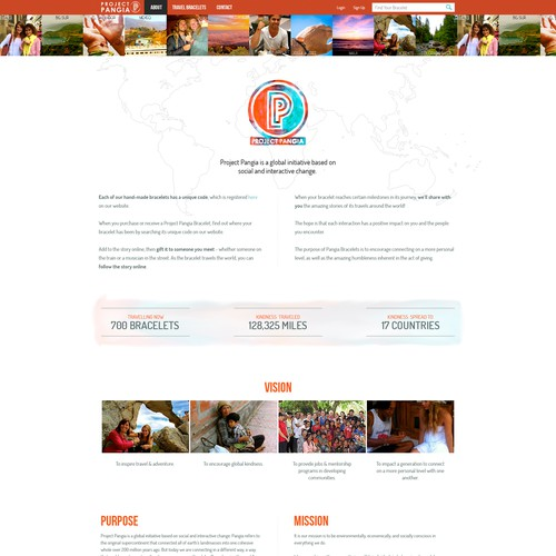 Travel/Surf/Social Wordpress Site needs KILLER redesign!