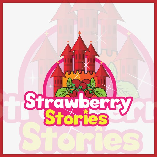 Logo for a website dedicated to childrens story, Fairy tales