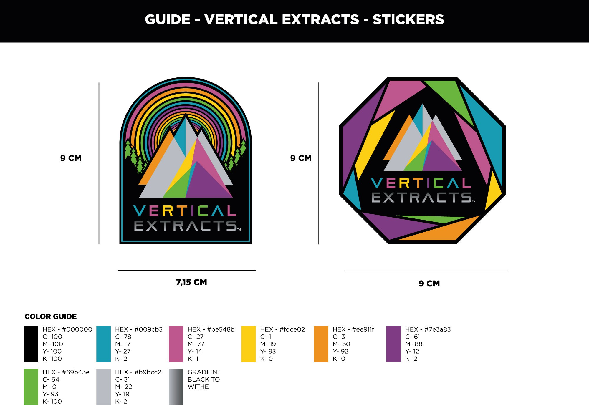 Cannabis Branding Sticker Contest for Extracts with Personality