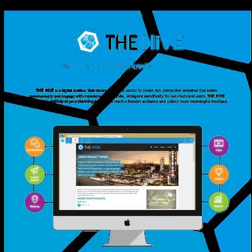 Help us promote our civic participation apps - Flyer design