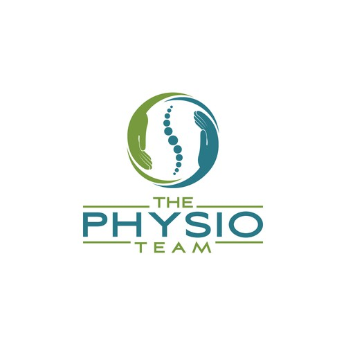 A logo concept for Physiotherapy.