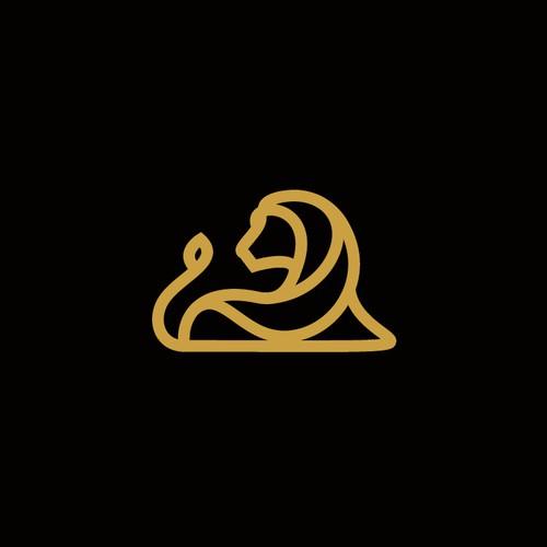 lion monogram