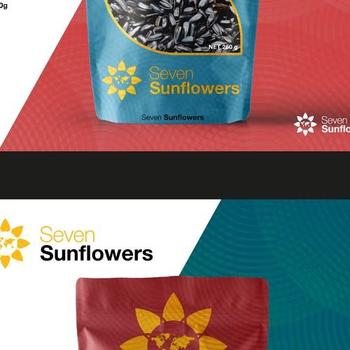 Logo y diseño para Sunflower
