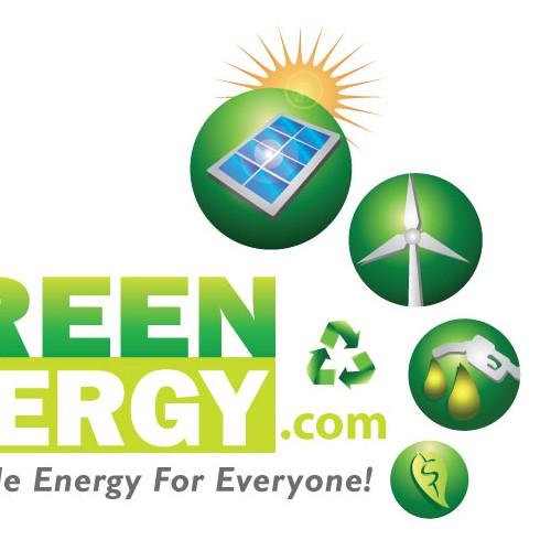 Create a logo for a Green Energy Website