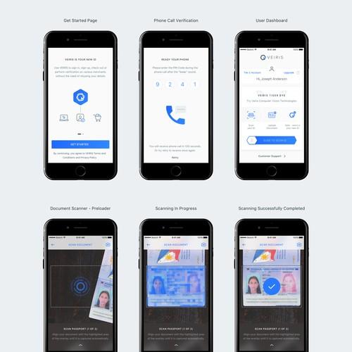 Design Concept for Document Scanning App