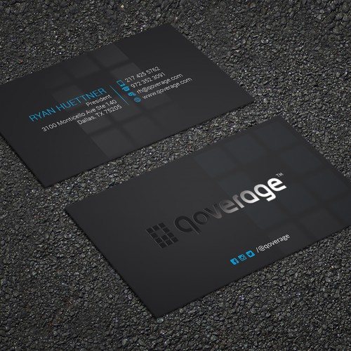 Design a minimalist business card for my IT consulting firm