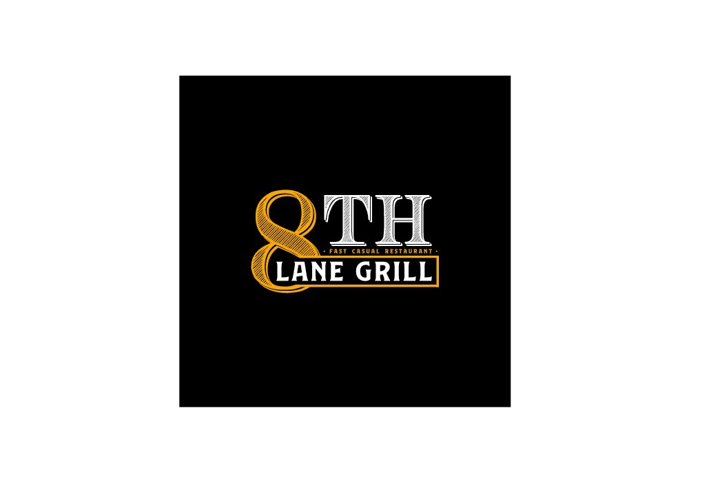 8th Lane Grill needs a cool logo