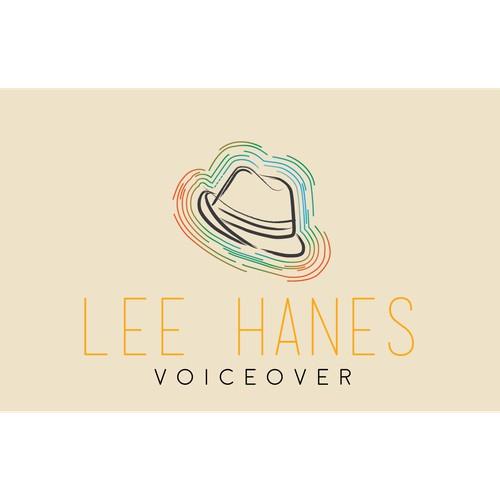 An abstract logo concept for a voice over artist.