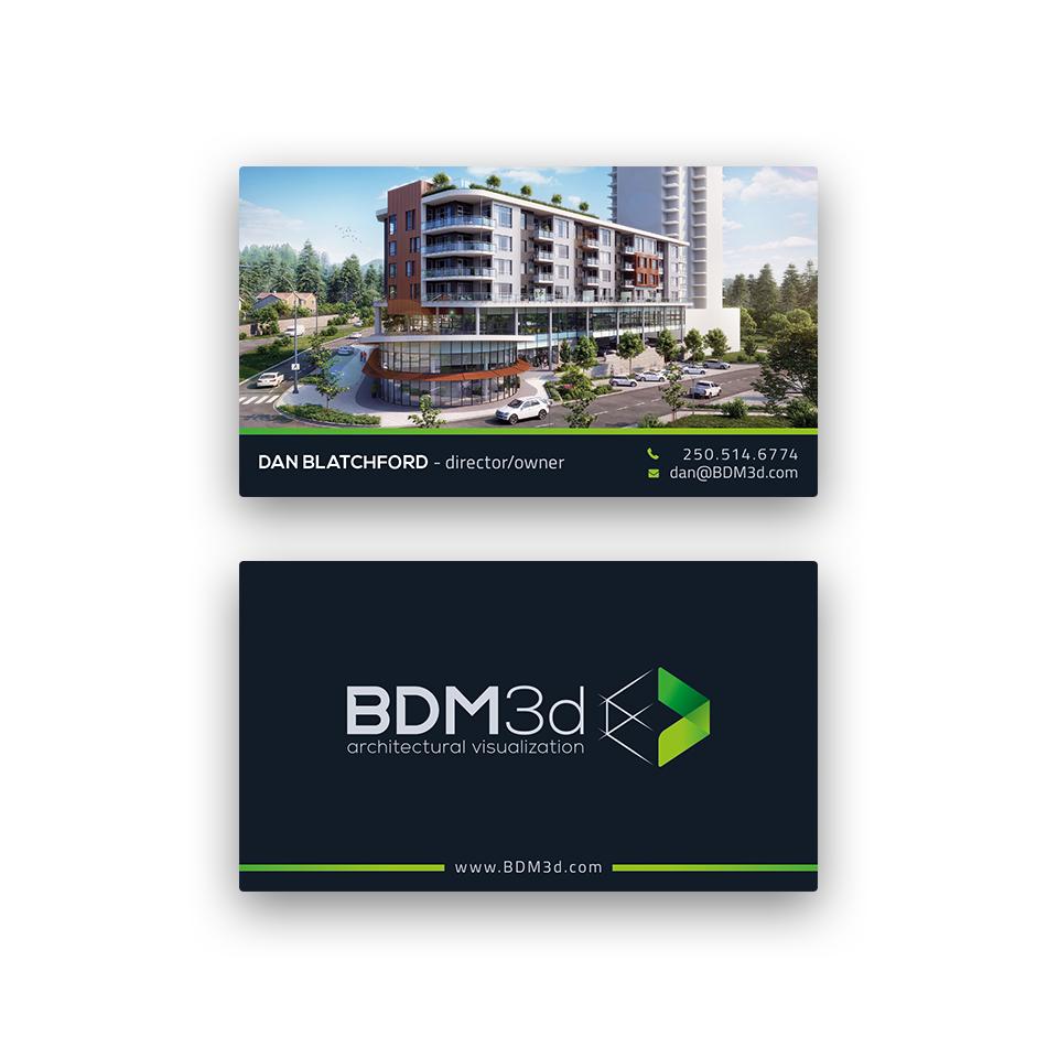 BDM3d Business Card Redesign