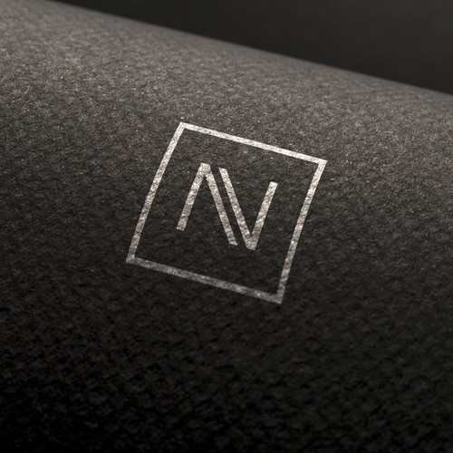 NV logo design.