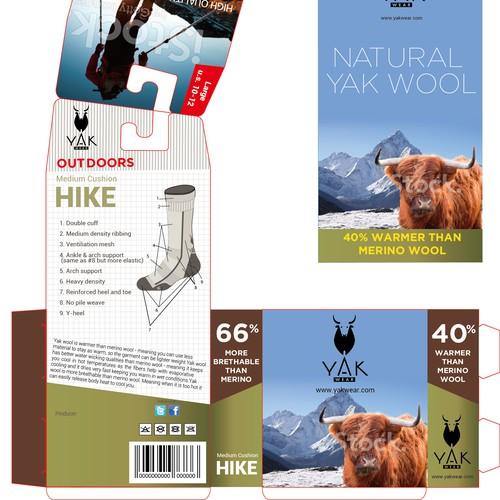 Yak Wool Socks-HIKE Outdoors