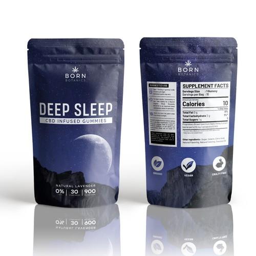 """Pouch Packaging """"Deep Sleep"""""""