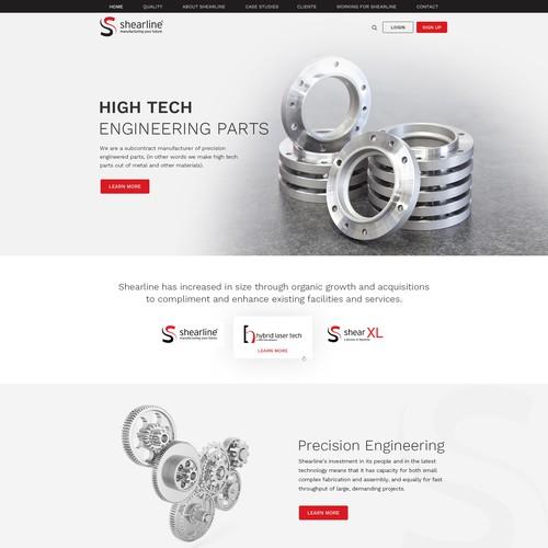 Minimal Business Website