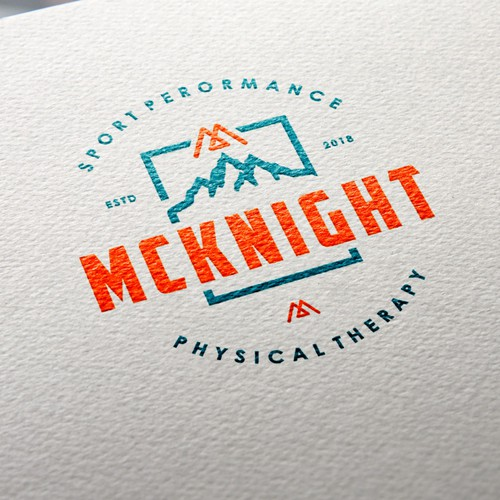 Logo needed for modern, rugged, mountainous physical therapy clinic