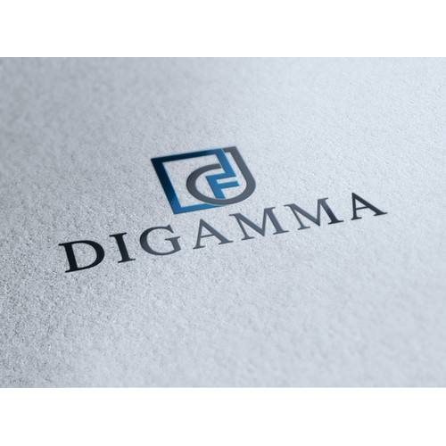 Create a modern and unique logo for Digamma - real estate development
