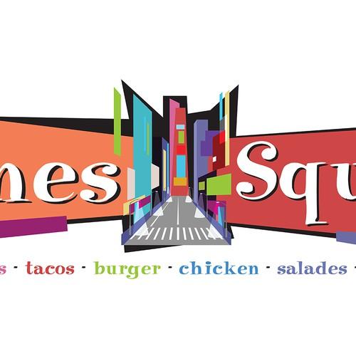Colorful Logo Concept for Restaurant