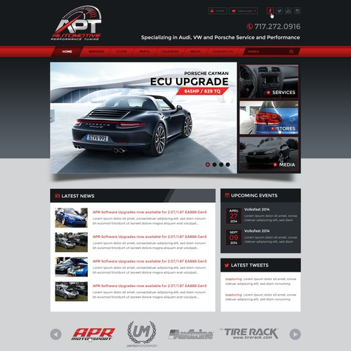 Create New Automotive Website
